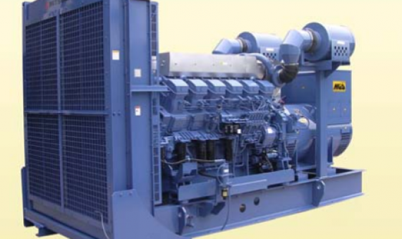 Máy phát điện Mitsubishi MGS1200B 1362.5KVA 1500KVA
